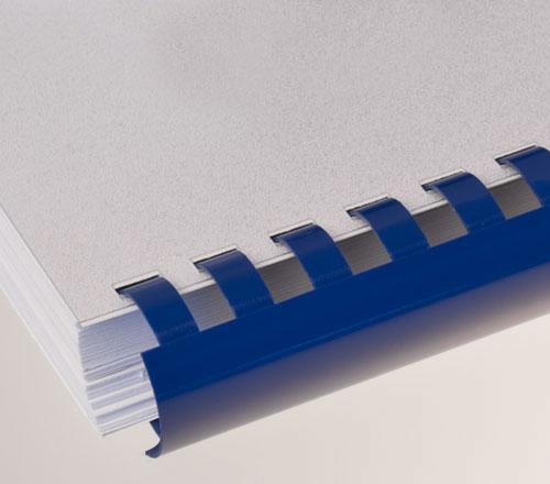 Plastic Comb Binding Blue