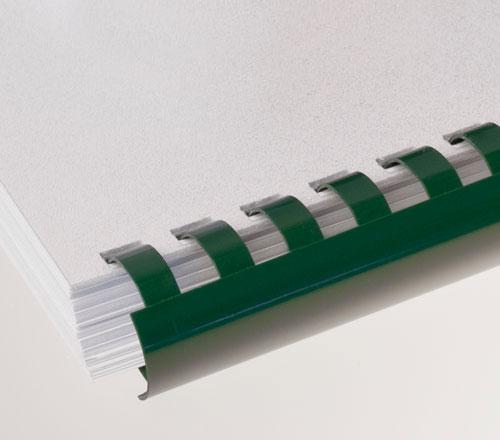 Plastic Comb Binding Green