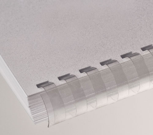 Plastic Comb Binding Transparent