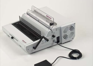Combi E Plastic Comb Binding Machine by Renz image 1