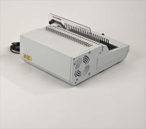 Combi E Plastic Comb Binding Machine by Renz image 5