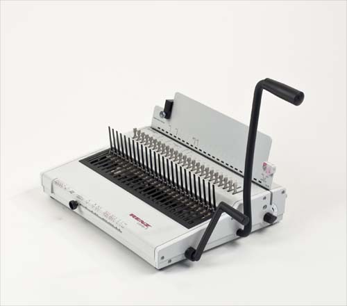 Combi S Plastic Comb Binding Machine by Renz image 1