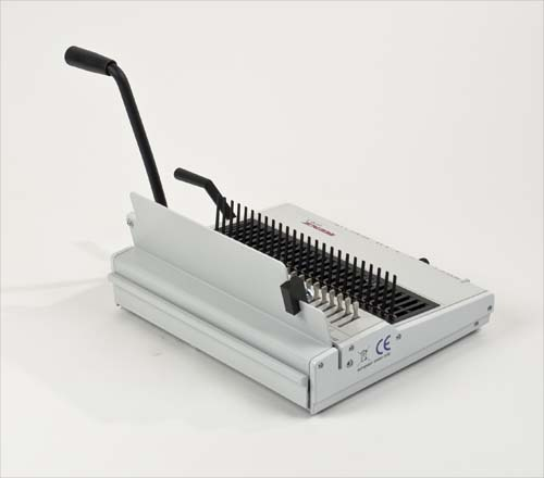 Combi S Plastic Comb Binding Machine by Renz image 5