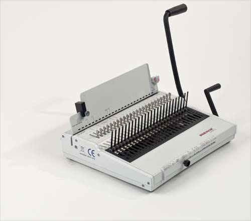 Combi S Plastic Comb Binding Machine by Renz image 7