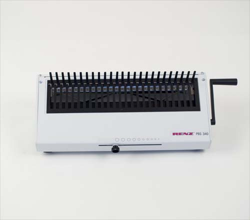 PBS 340 Plastic Comb Manual Closing Machine by Renz image 1