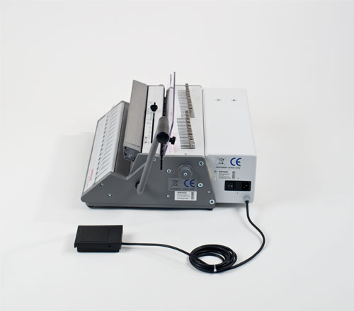 SRW 360 Comfort 3:1 Pitch Electric Wire Binding Machine by Renz image 2