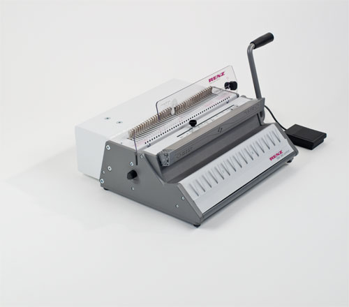SRW 360 Comfort 3:1 Pitch Electric Wire Binding Machine by Renz image 6