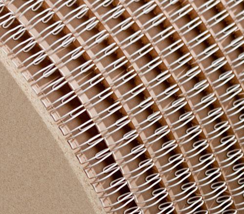 Wire Comb Spool 2:1 - White