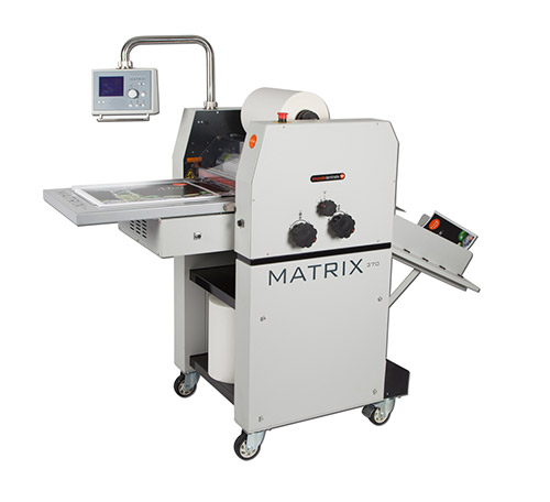 Vivid Matrix Mx 370 Single Sided Laminating System Databind