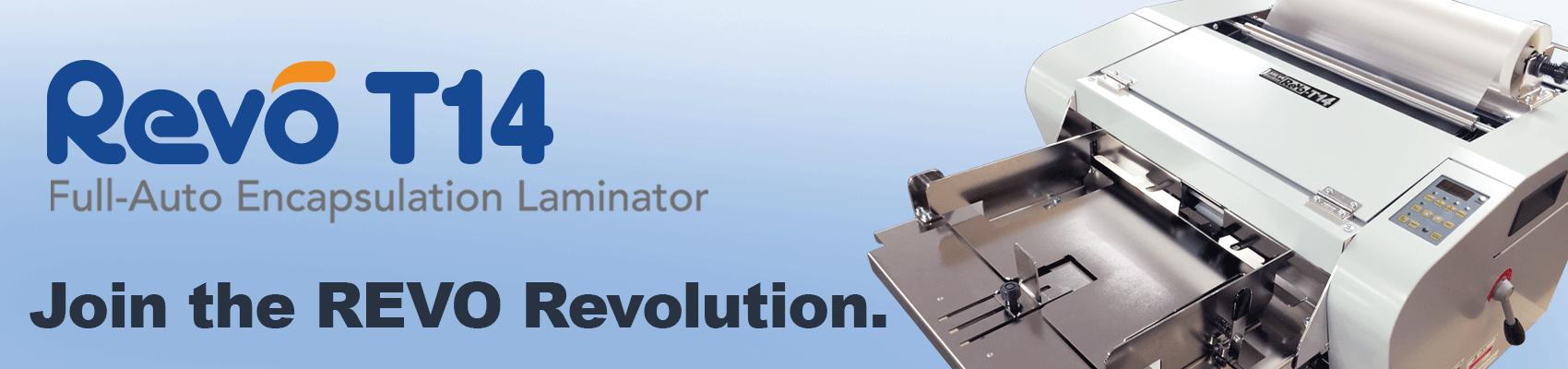 LAMI Revo T-14 Automatic Laminators