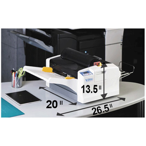 Lami Revo-Office Automatic Laminator with dimensions